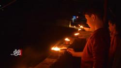 بالصور.. ديرك تستذكر ضحايا انتفاضة 12 آذار بإيقاد الشموع