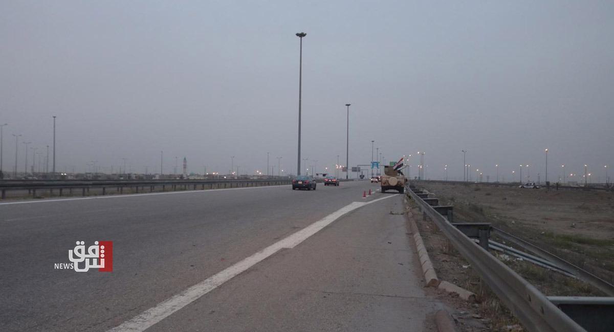 استهداف رتل تابع للتحالف الدولي أثناء مروره على طريق الأنبار السريع
