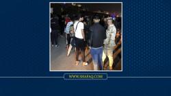 بغداد.. الأهالي يتظاهرون رفضاً لحظر التجوال