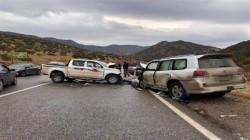 """خلال 24 ساعة .. مصرع وإصابة 13 شخصا بحوادث في """"كويسنجق"""" بأربيل"""