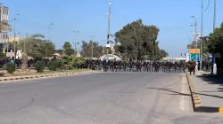النجف.. مصادمات بين المحتجين والأمن في محيط مبنى الحكومة المحلية