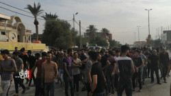 Demonstrators of Al-Haboubi Square in Dhi Qar apologize to the citizens
