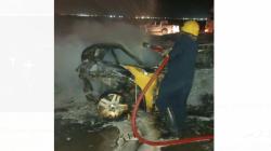 تفحّم 4 أشخاص في حادث مروّع بالبصرة