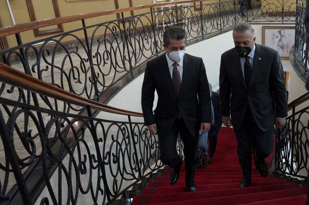 Al-Kadhimi sends holiday greetings to his Kurdish counterpart
