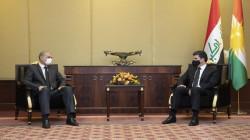 بارزاني والغانمي يؤكدان على ضرورة تسريع الخطى في تطبيق اتفاقية سنجار