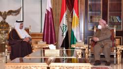 """Barzani expresses """"delight"""" following the inauguration of a Qatari consulate in Erbil"""