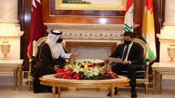 Kurdistan's President Barzani: to develop relations with Qatar