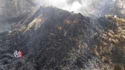 صور.. حريق ضخم يلتهم حقل دواجن في ديرك