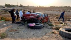 مصرع مدني بحادث سير بين ديالى واقليم كوردستان