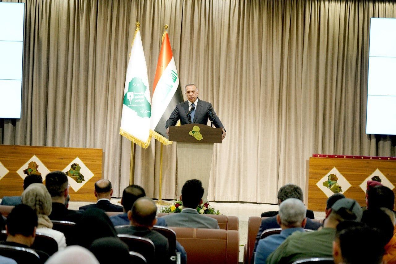 """الكاظمي يعلق على استعراض """"ربع الله"""": لن يخيفنا أحد"""