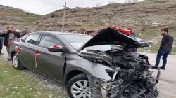 في أربيل.. حادث يقلب زفة عروسين إلى كابوس