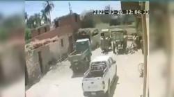 """فيديو """"مرعب"""" يرصد لحظة تصادم قطاري مصر"""