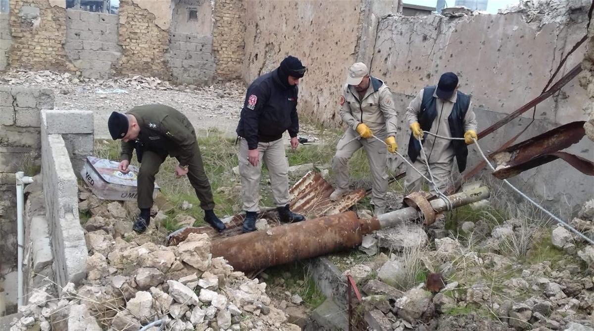 مقتل راعي اغنام اثر انفجار مخلف حربي غربي الموصل