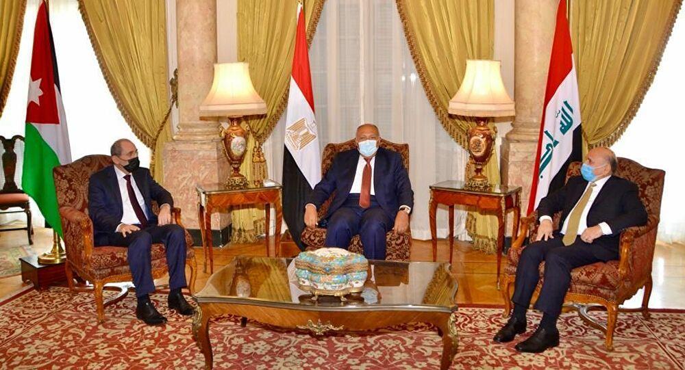وزراء خارجية العراق والأردن ومصر يناقشون أزمات أربع دول عربية