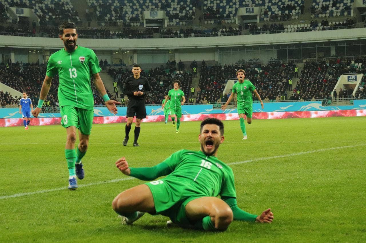 المنتخب العراقي يتغلب على نظيره الأوزبكي بهدف وحيد