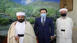 """أوقاف كوردستان تؤكد دعمها للايزيديين وتوفير مستلزمات """"لالش"""""""