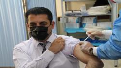 وزير صحة كوردستان يتلقى الجرعة الثانية من لقاح كورونا