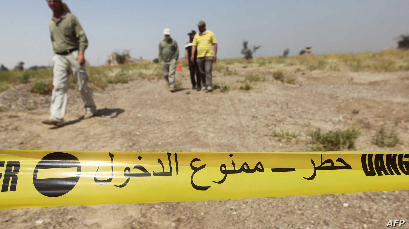 سقوط ضحية وإصابة والده بجروح بإنفجار جنوبي الموصل