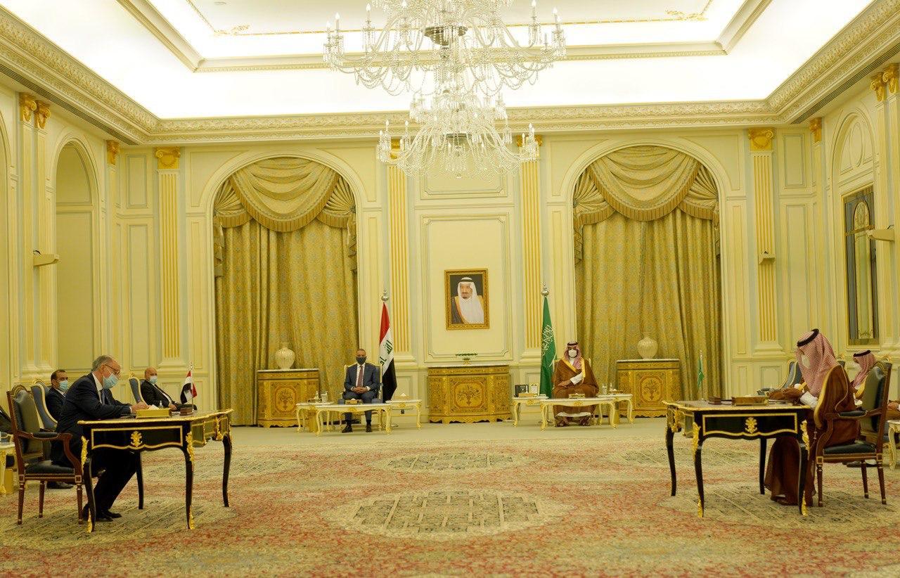 توقيع خمس اتفاقيات ومذكرات تفاهم مشتركة بين الجانبين العراقي والسعودي