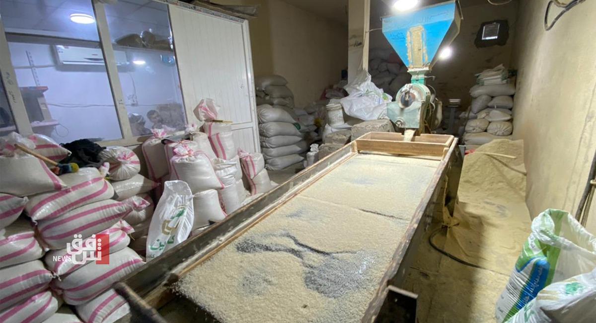 صور.. إقبال كبير على الرز المحلي في إقليم كوردستان
