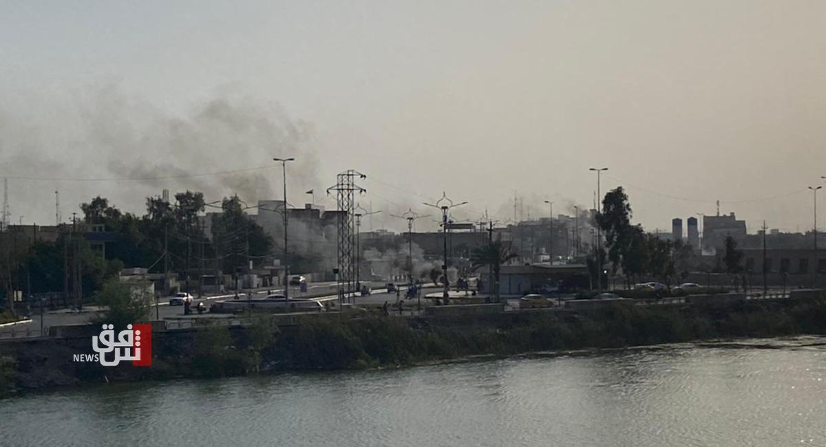 """صور.. """"سجاد العراقي"""" يشعل الاحتجاجات في الناصرية مجدداً"""