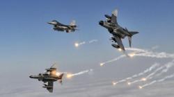 التحالف الدولي يدمر مواقع لداعش في الثرثار ومطيبيجة