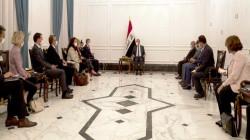 الكاظمي يبحث مع نائب رئيس الاتحاد السويسري إعادة فتح سفارة بلاده في بغداد