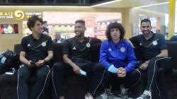 صور.. الزوراء يغادر بغداد لملاقاة الوحدة الإماراتي في الملحق الآسيوي