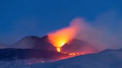 النقل: إنتشار ثاني اوكسيد الكبريت لبركان اتينا خارج اختصاص الانواء الجوية