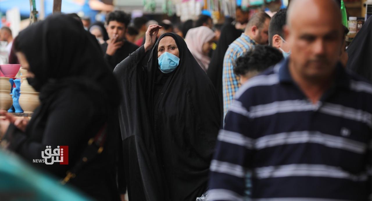 عراق.. وەرگرەیل واکسین لە سەد هەزار زیاتر و نزیکەی ٦٥٠٠ تووشهاتن نوو