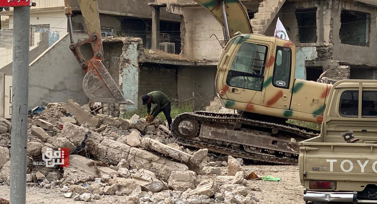 ISIS terrorists' bodies found under buildings' rubble in Mosul