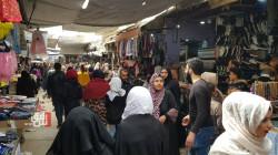 قُبيل حظر التجوال.. أسواق القامشلي تعج بالمتبضعين (صور)
