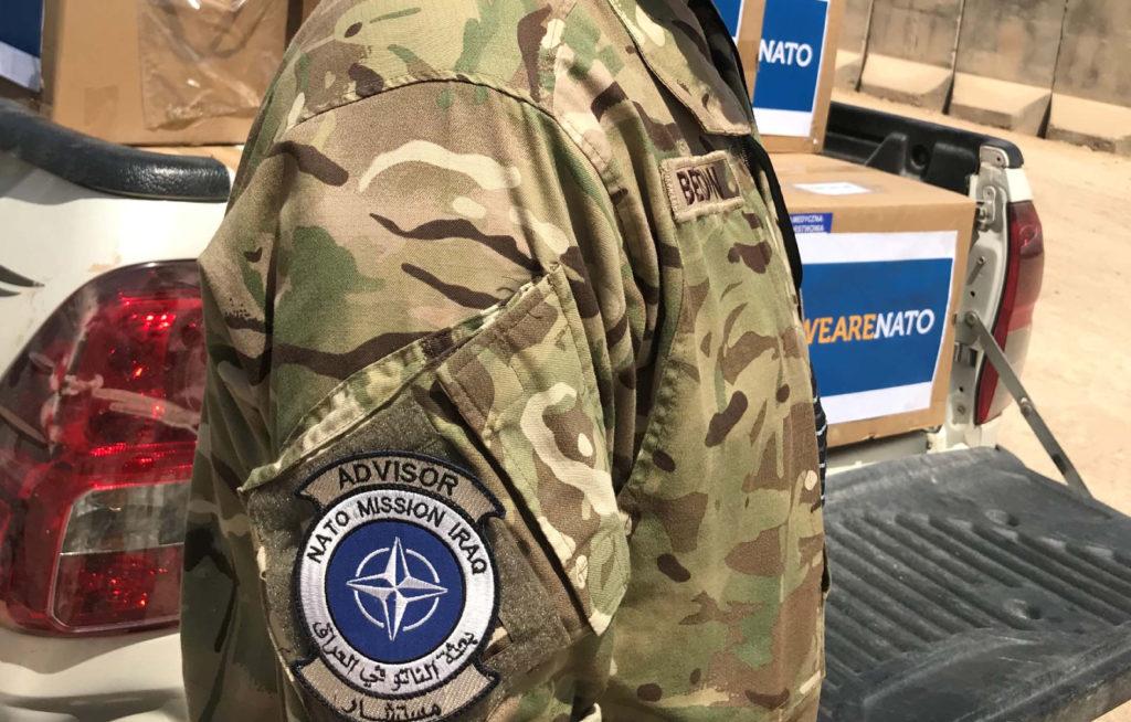 Ukraine joins the NATO mission in Iraq