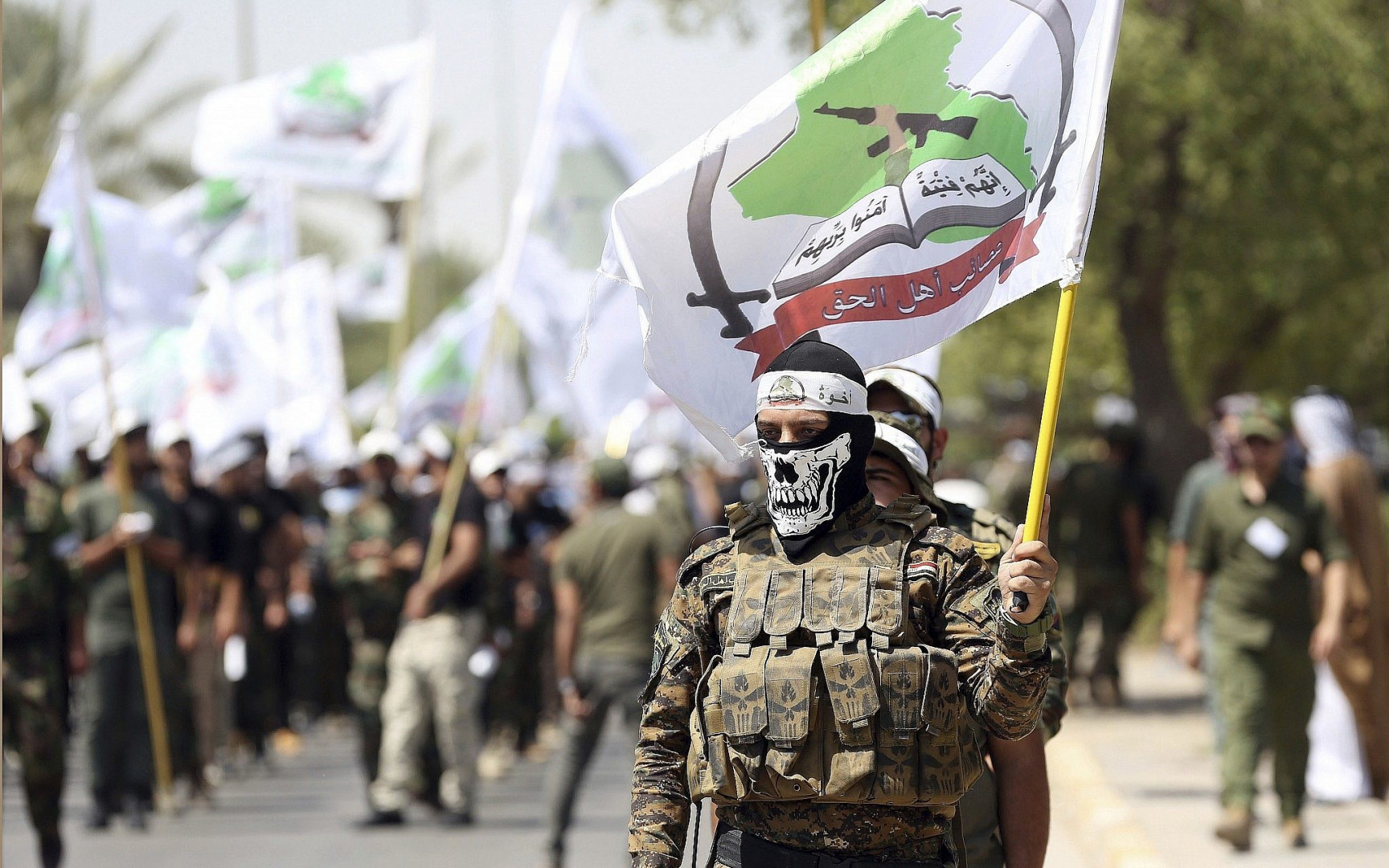 Five injured in clashes between PMF and Asa'ib Ahl al-Haq members in Mosul