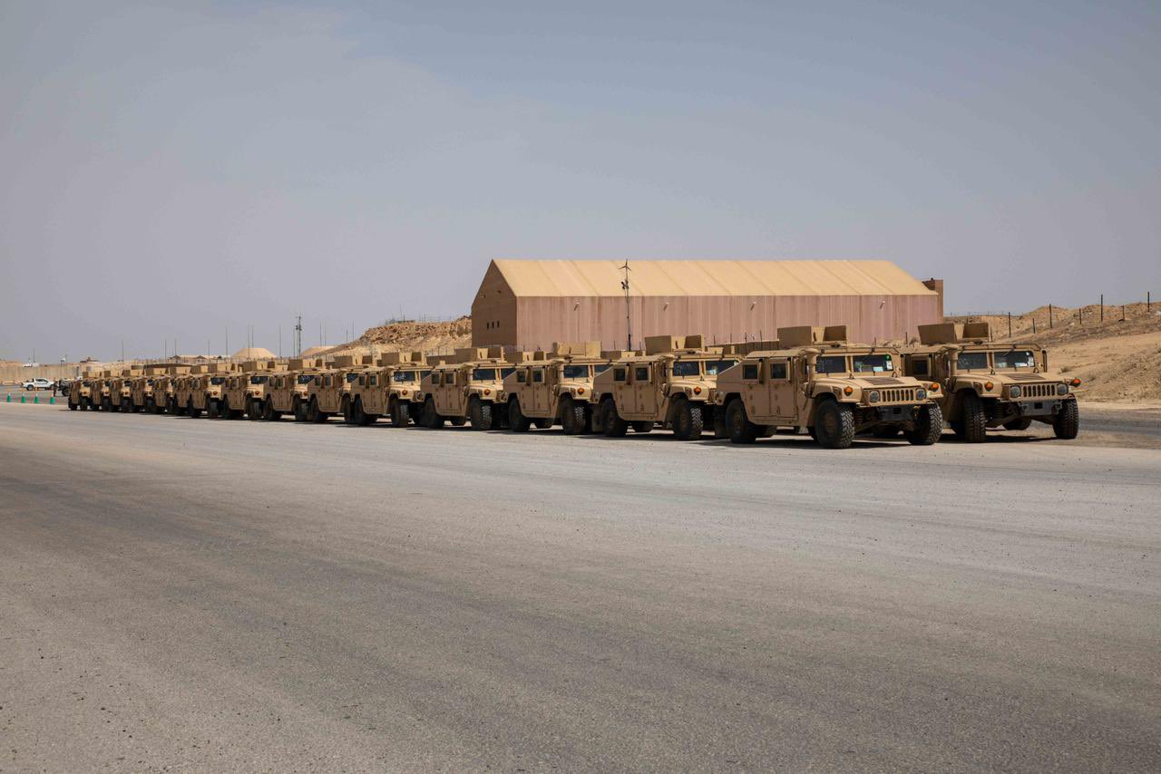 Multi-million dollar equipment granted to the Ministry of Interior by the Coalition
