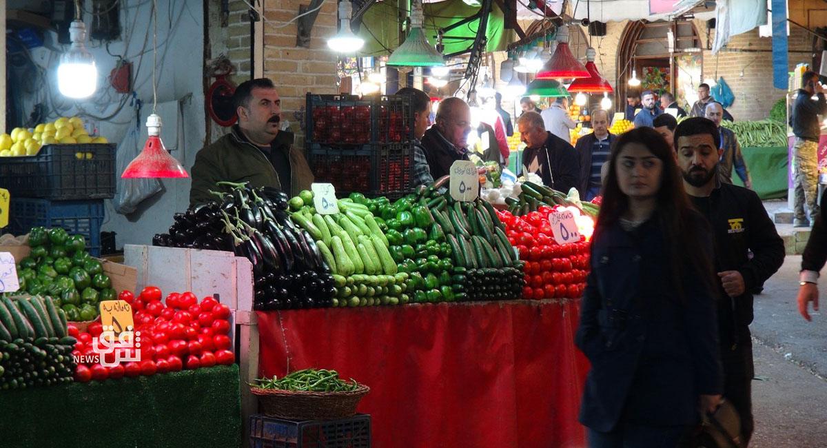 المركزي للإحصاء: تذبذب في أسعار المنتجات الزراعية وارتفاع اللحوم في العراق