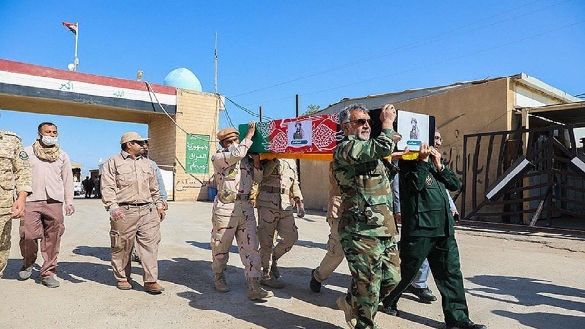 العراق وإيران يتبادلان رفات عشرات العسكريين