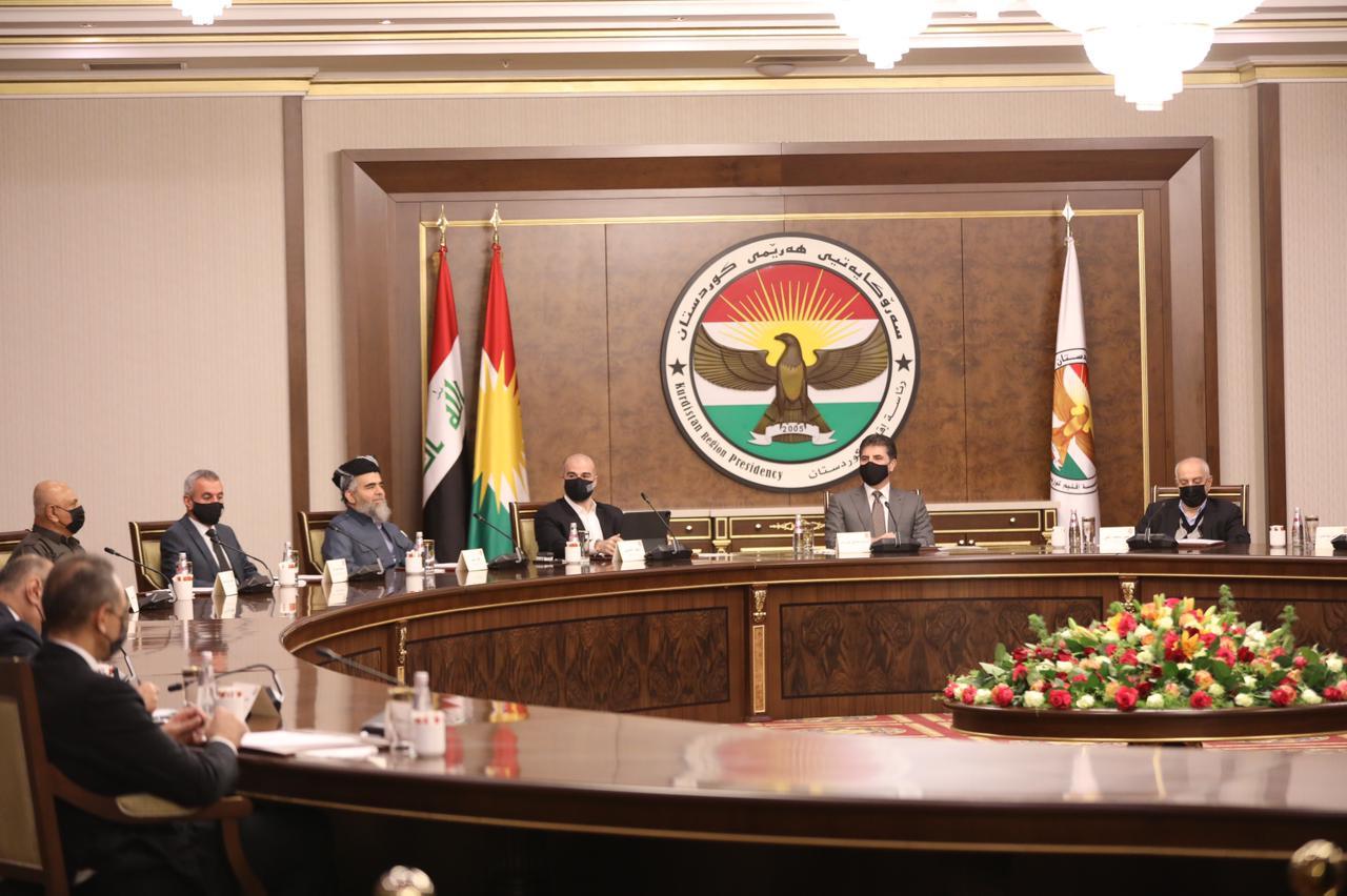Kurdistan's political parties begin their meeting in Erbil