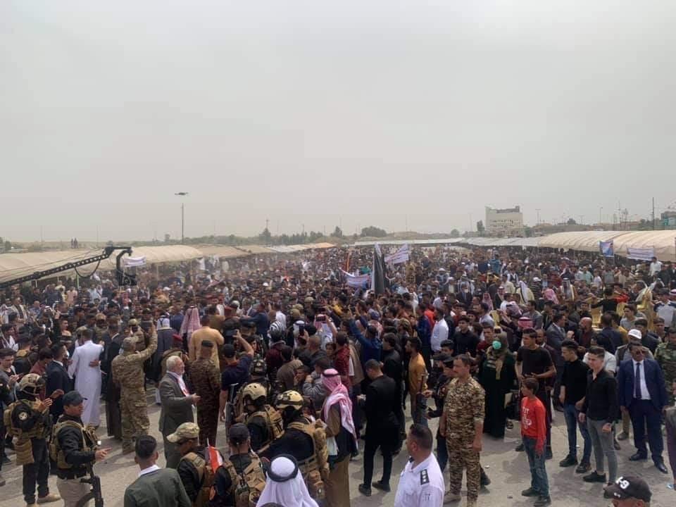"""صحة نينوى تعلق على مؤتمر انتخابي أقامه """"أبو مازن"""": يهدد أرواح الموصليين"""