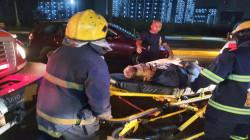 صور.. ضحايا بحادث مروع في العاصمة بغداد