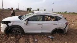مصرع مدرس واصابة مرافقه بحادث سير في صلاح الدين