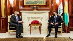"""رئيس إقليم كوردستان والسفير الامريكي يبحثان """"الحوار الاستراتيجي"""""""