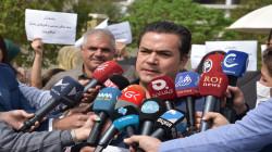 محتجون يعلنون اعتصاما مفتوحا امام مبنى مجلس وزراء اقليم كوردستان