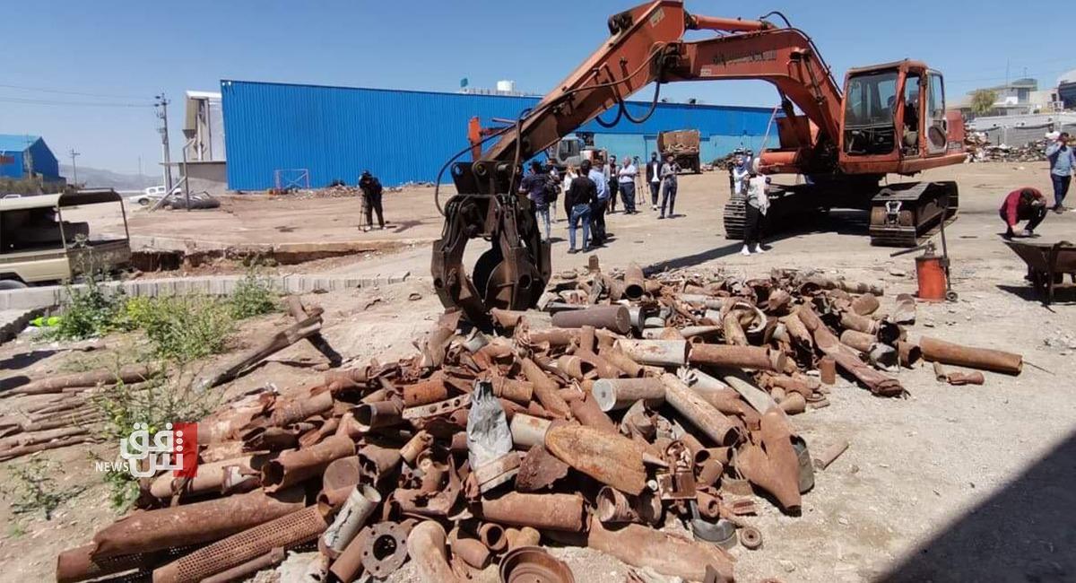 نقابة تكشف سبب انفجار معمل الحديد بالسليمانية وتحمل الإدارة المسؤولية (صور)