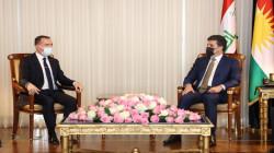رئيس إقليم كوردستان يجتمع مع السفير التركي في العراق