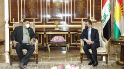 PM Barzani hosts the US Deputy Special Envoy to Syria