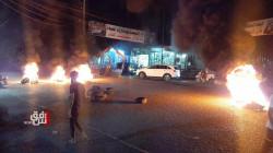 ذي قار.. متظاهرون يغلقون الشوارع ويلوحون بالتصعيد بعد قرار عودة الفياض