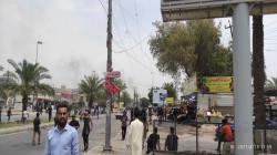 القوات الأمنية تفضُّ بالرصاص الحي تظاهرة للمفسوخة عقودهم من الحشد ببغداد