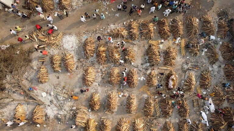 وفيات وإصابات قياسية جديدة بالهند جراء كورونا والمتحور الجديد يغزو 17 دولة