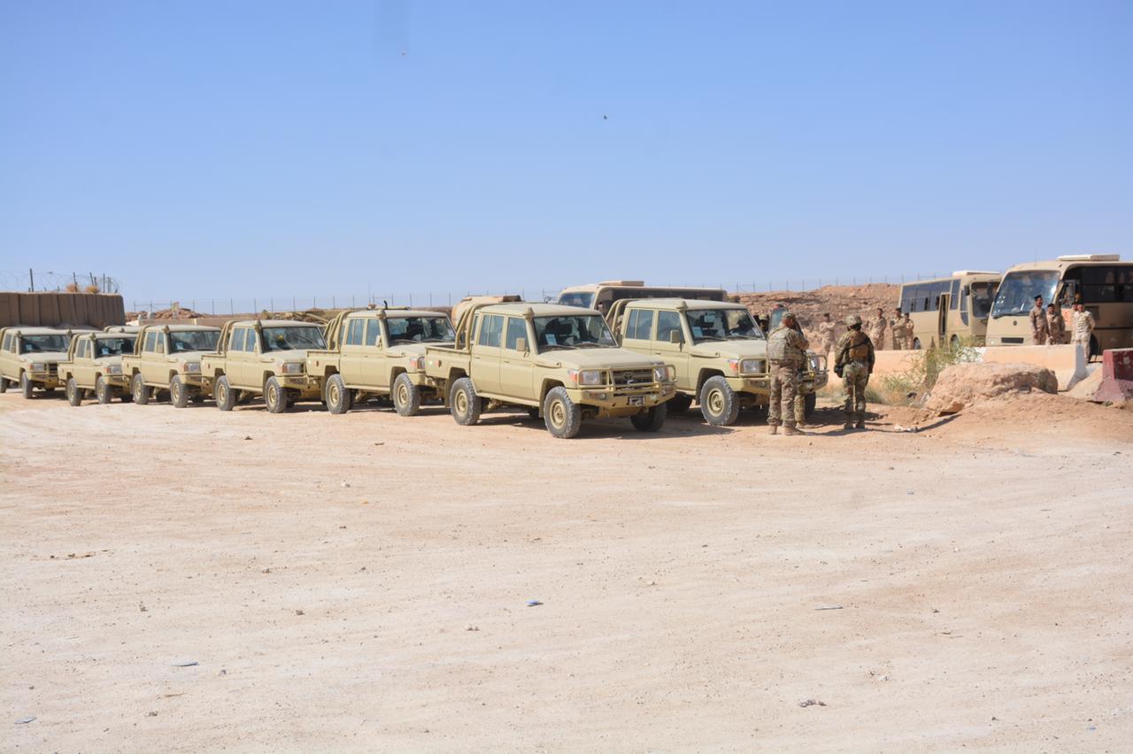 تفجير يستهدف نقطة لنقل معدات إلى التحالف الدولي على الحدود العراقية الكويتية